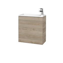 Dřevojas - Koupelnová skříň VARIANTE SZD 50 - D17 Colorado / D17 Colorado / Levé (327804)