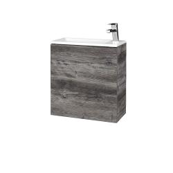 Dřevojas - Koupelnová skříň VARIANTE SZD 50 - D10 Borovice Jackson / D10 Borovice Jackson / Pravé (339142P)