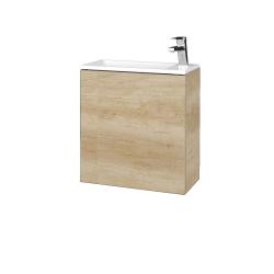 Dřevojas - Koupelnová skříň VARIANTE SZD 50 - D15 Nebraska / D15 Nebraska / Pravé (339159P)
