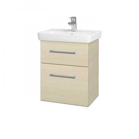 Dřevojas - Koupelnová skříň GO SZZ2 50 - D02 Bříza / Úchytka T03 / D02 Bříza (28155C)