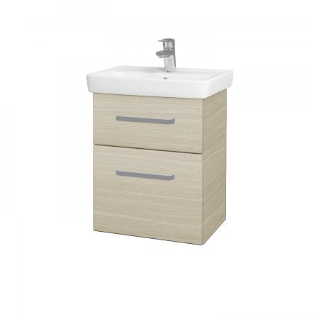 Dřevojas - Koupelnová skříň GO SZZ2 50 - D04 Dub / Úchytka T01 / D04 Dub (28094A)