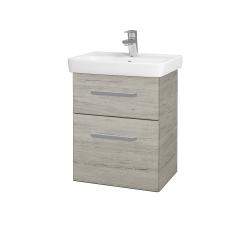 Dřevojas - Koupelnová skříň GO SZZ2 50 - D05 Oregon / Úchytka T01 / D05 Oregon (28124A)