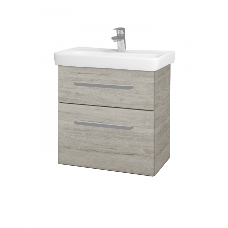 Dřevojas - Koupelnová skříň GO SZZ2 60 - D05 Oregon / Úchytka T01 / D05 Oregon (28148A)