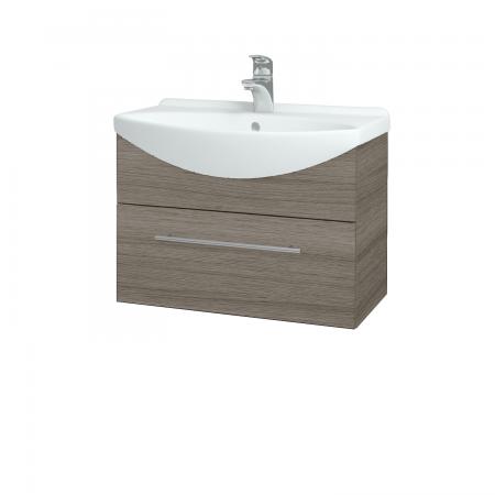 Dřevojas - Koupelnová skříň TAKE IT SZZ 65 - D03 Cafe / Úchytka T02 / D03 Cafe (133702B)