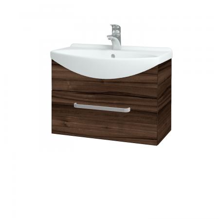 Dřevojas - Koupelnová skříň TAKE IT SZZ 65 - D06 Ořech / Úchytka T01 / D06 Ořech (133733A)