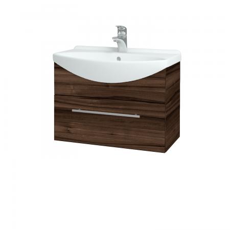 Dřevojas - Koupelnová skříň TAKE IT SZZ 65 - D06 Ořech / Úchytka T02 / D06 Ořech (133733B)