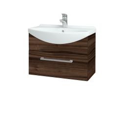 Dřevojas - Koupelnová skříň TAKE IT SZZ 65 - D06 Ořech / Úchytka T03 / D06 Ořech (133733C)