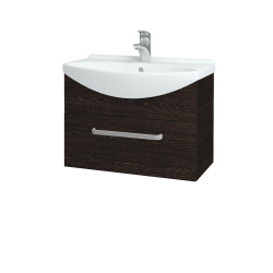 Dřevojas - Koupelnová skříň TAKE IT SZZ 65 - D08 Wenge / Úchytka T01 / D08 Wenge (133740A)