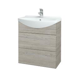 Dřevojas - Koupelnová skříň TAKE IT SZZ2 65 - D05 Oregon / Úchytka T02 / D05 Oregon (133788B)