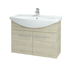 Dřevojas - Koupelnová skříň TAKE IT SZD2 85 - D05 Oregon / Úchytka T02 / D05 Oregon (133412B)