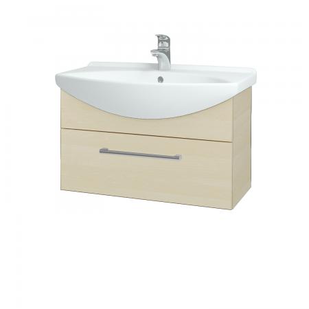 Dřevojas - Koupelnová skříň TAKE IT SZZ 75 - D02 Bříza / Úchytka T03 / D02 Bříza (133832C)
