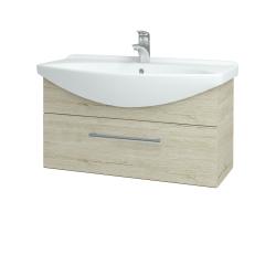Dřevojas - Koupelnová skříň TAKE IT SZZ 85 - D05 Oregon / Úchytka T03 / D05 Oregon (134006C)
