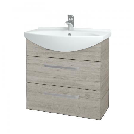 Dřevojas - Koupelnová skříň TAKE IT SZZ2 75 - D05 Oregon / Úchytka T01 / D05 Oregon (133931A)