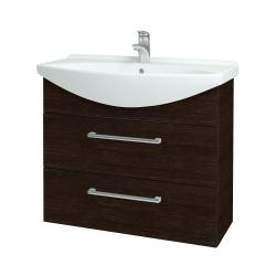 Dřevojas - Koupelnová skříň TAKE IT SZZ2 85 - D08 Wenge / Úchytka T03 / D08 Wenge (134099C)