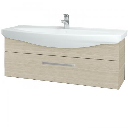 Dřevojas - Koupelnová skříň TAKE IT SZZ 120 - D04 Dub / Úchytka T01 / D04 Dub (134273A)