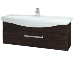 Dřevojas - Koupelnová skříň TAKE IT SZZ 120 - D08 Wenge / Úchytka T01 / D08 Wenge (134303A)