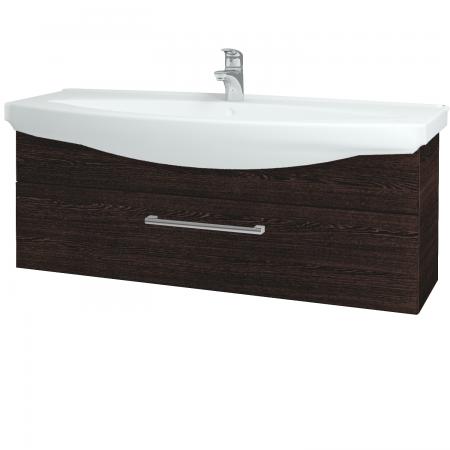 Dřevojas - Koupelnová skříň TAKE IT SZZ 120 - D08 Wenge / Úchytka T03 / D08 Wenge (134303C)