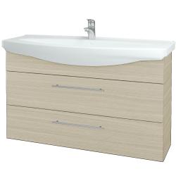 Dřevojas - Koupelnová skříň TAKE IT SZZ2 120 - D04 Dub / Úchytka T02 / D04 Dub (134341B)