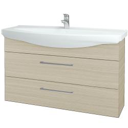 Dřevojas - Koupelnová skříň TAKE IT SZZ2 120 - D04 Dub / Úchytka T03 / D04 Dub (134341C)