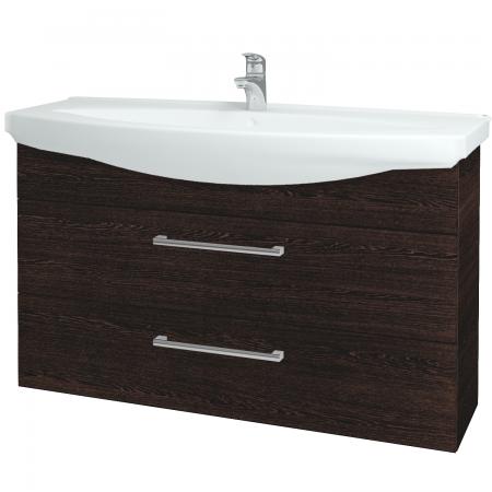 Dřevojas - Koupelnová skříň TAKE IT SZZ2 120 - D08 Wenge / Úchytka T03 / D08 Wenge (134372C)