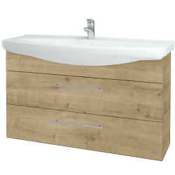 Dřevojas - Koupelnová skříň TAKE IT SZZ2 120 - D09 Arlington / Úchytka T02 / D09 Arlington (151416B)