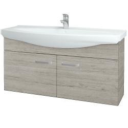 Dřevojas - Koupelnová skříň TAKE IT SZD2 120 - D05 Oregon / Úchytka T01 / D05 Oregon (133559A)