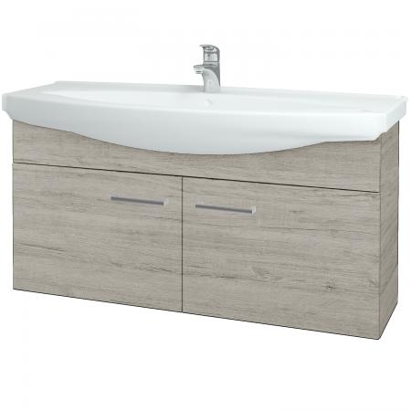 Dřevojas - Koupelnová skříň TAKE IT SZD2 120 - D05 Oregon / Úchytka T03 / D05 Oregon (133559C)