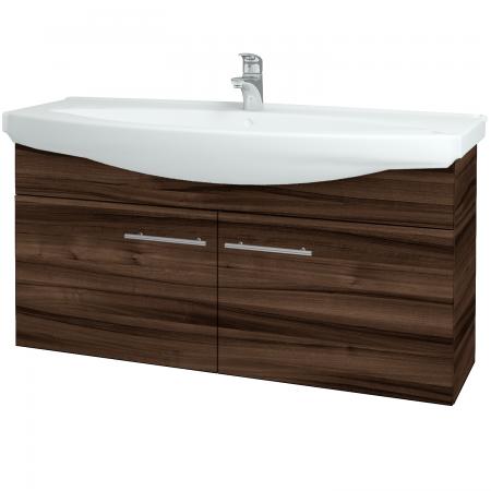 Dřevojas - Koupelnová skříň TAKE IT SZD2 120 - D06 Ořech / Úchytka T02 / D06 Ořech (133566B)