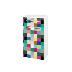 Dřevojas - Skříň spodní DOS SNDZ 50 - N01 Bílá lesk / Úchytka T03 / IND Individual / Levé (156404C)