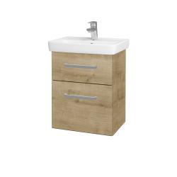 Dřevojas - Koupelnová skříň GO SZZ2 50 - D09 Arlington / Úchytka T01 / D09 Arlington (148065A)