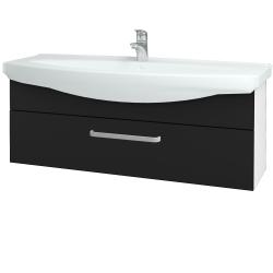Dřevojas - Koupelnová skříň TAKE IT SZZ 120 - N01 Bílá lesk / Úchytka T01 / N08 Cosmo (207397A)