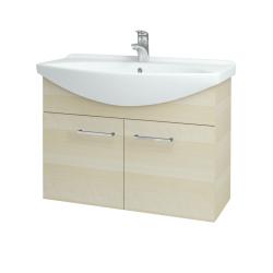 Dřevojas - Koupelnová skříň TAKE IT SZD2 85 - D02 Bříza / Úchytka T04 / D02 Bříza (133382E)