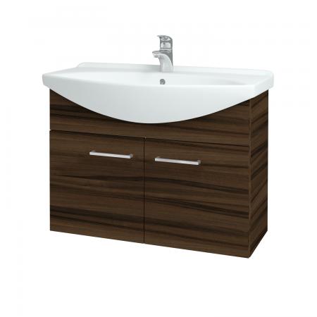 Dřevojas - Koupelnová skříň TAKE IT SZD2 85 - D06 Ořech / Úchytka T04 / D06 Ořech (133429E)