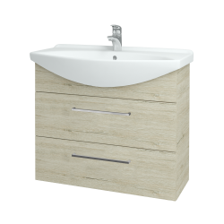 Dřevojas - Koupelnová skříň TAKE IT SZZ2 85 - D05 Oregon / Úchytka T04 / D05 Oregon (134075E)