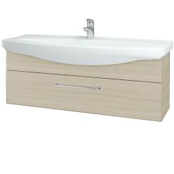 Dřevojas - Koupelnová skříň TAKE IT SZZ 120 - D04 Dub / Úchytka T04 / D04 Dub (134273E)