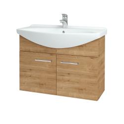 Dřevojas - Koupelnová skříň TAKE IT SZD2 85 - D09 Arlington / Úchytka T04 / D09 Arlington (151171E)