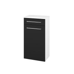 Dřevojas - Skříň spodní DOS SNDKZ 50 - N01 Bílá lesk / Úchytka T04 / N08 Cosmo (211264E)