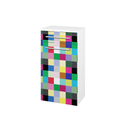 Dřevojas - Skříň spodní DOS SNDZ 50 - N01 Bílá lesk / Úchytka T03 / IND Individual / Pravé (156404CP)