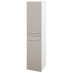 Dřevojas - Skříň vysoká DOS SVD2 35 - N01 Bílá lesk / Úchytka T03 / N07 Stone / Levé (210458C)