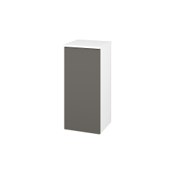 Dřevojas - Skříň spodní DOS SND 35 - N01 Bílá lesk / Bez úchytky T31 / N06 Lava / Pravé (211790DP)
