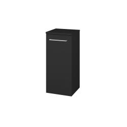 Dřevojas - Skříň spodní DOS SND 35 - L03 Antracit vysoký lesk / Úchytka T04 / L03 Antracit vysoký lesk / Levé (62128E)