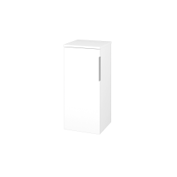 Dřevojas - Skříň spodní DOS SND 35 - N01 Bílá lesk / Úchytka T05 / M01 Bílá mat / Levé (211752F)