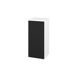 Dřevojas - Skříň spodní DOS SND 35 - N01 Bílá lesk / Bez úchytky T31 / N08 Cosmo / Levé (211813D)