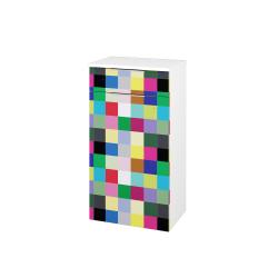 Dřevojas - Skříň spodní DOS SNDKZ 50 - N01 Bílá lesk / Úchytka T05 / IND Individual (66119F)