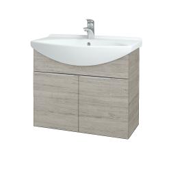 Dřevojas - Koupelnová skříň TAKE IT SZD2 75 - D05 Oregon / Úchytka T05 / D05 Oregon (133344F)