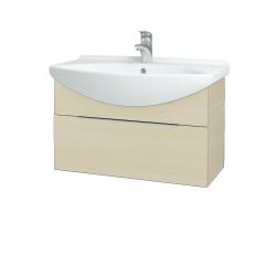 Dřevojas - Koupelnová skříň TAKE IT SZZ 75 - D02 Bříza / Úchytka T05 / D02 Bříza (133832F)