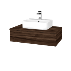 Dřevojas - Koupelnová skříňka MODULE SZZ 80 - D06 Ořech / D06 Ořech (296988)