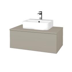 Dřevojas - Koupelnová skříňka MODULE SZZ1 80 - M05 Béžová mat / M05 Béžová mat (297534)