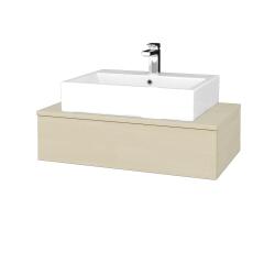 Dřevojas - Koupelnová skříňka MODULE SZZ 80 - D02 Bříza / D02 Bříza (311032)
