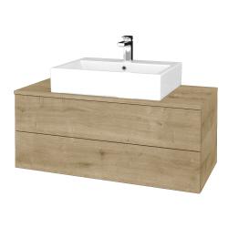 Dřevojas - Koupelnová skříňka MODULE SZZ2 100 - D09 Arlington / D09 Arlington (313449)